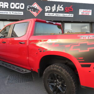 QCAROGO AUTO ACCESSORIES DOHA QATAR FOR AMERICAN AND JAPANES PICKUP TRUCKS ACCESSORIES TONNEAU COVER ROLL BAR ROLLER LID SIDE STEP LEER AEROKLAS CARRYBOY MAXLINER BEDLINER FRAMEGUARD BUSHWACKER FENDERS CANOPY HARDTOP