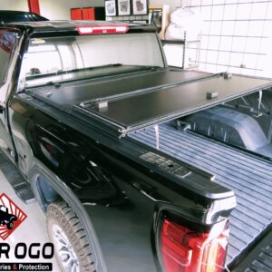LEER TRI FOLD TONNEAU COVER FOR FORD RAM GMC CHEVROLET HARD FOLDING COVER BACK COVER AUTO ACCESSORIES DOHA QATAR