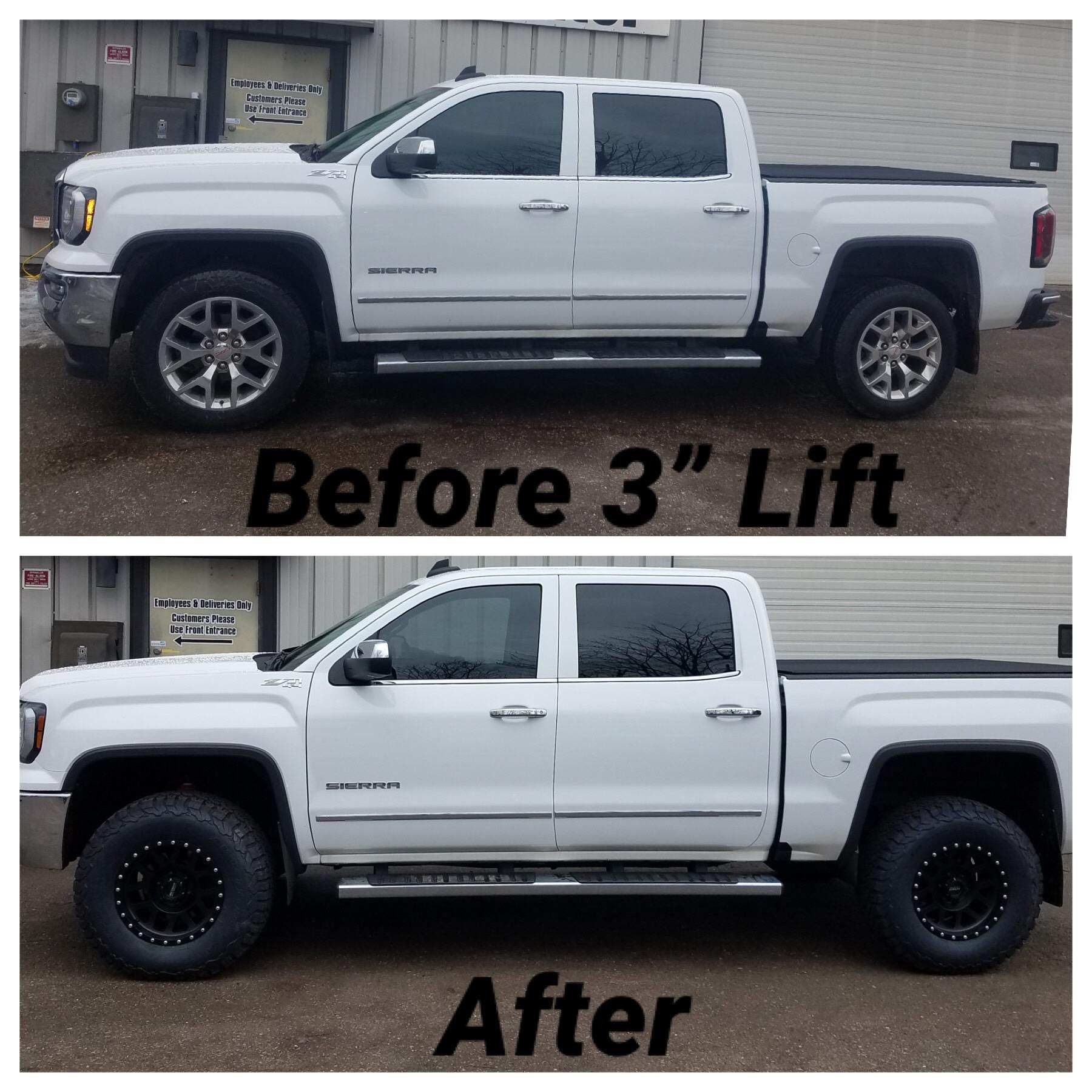 lift 1500 gmc inch sierra silverado chevy kit truck splt 4wd 2879 suspension chevrolet