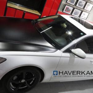Haverkamp black matte hood wrapped www.qcarogo.com