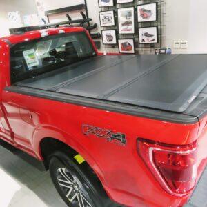 LEER Tri Fold Tonneau Cover installed for Ford F150 2021, Al Markhiya Doha- Qatar